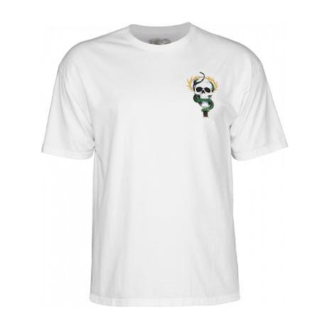 Powell-Peralta McGill Skull & Snake T-Shirt - White