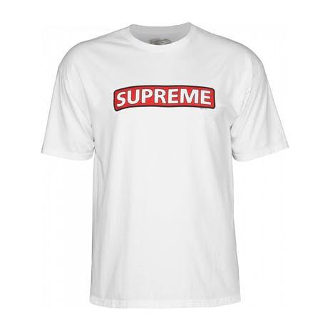 Powell-Peralta Supreme T-Shirt - White