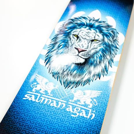 "Powell-Peralta Agah Lion 8.0"" Skateboard Deck"