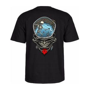 Powell-Peralta Mighty Pool Skull T-Shirt - Black