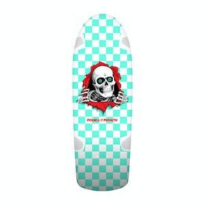 "Powell-Peralta OG Ripper Checker 10.0"" Skateboard Deck - Mint"
