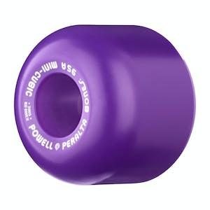 Powell-Peralta Mini Cubic 64mm Skateboard Wheels - Purple