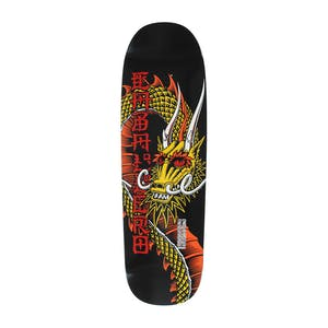 "Powell-Peralta Caballero Ban This 9.26"" Skateboard Deck - Red/Yellow"