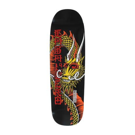 """Powell-Peralta Caballero Ban This 9.26"""" Skateboard Deck - Red/Yellow"""