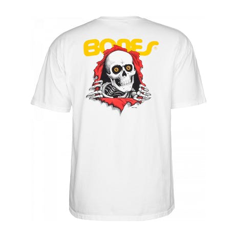 Powell-Peralta Ripper Youth T-Shirt - White