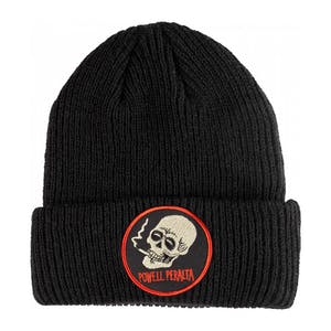 Powell-Peralta Smoking Skull Beanie - Black