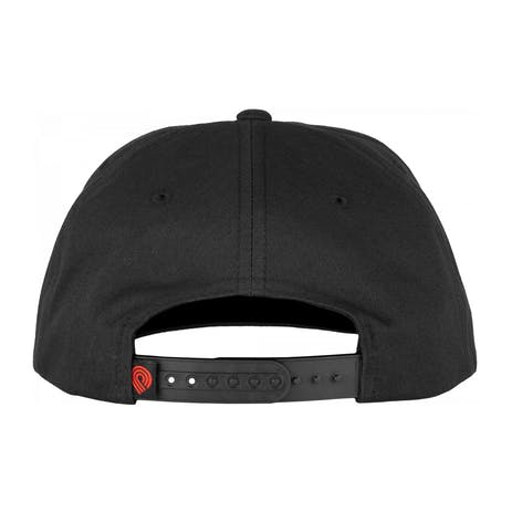 Powell-Peralta Smoking Skull Snapback Hat - Black