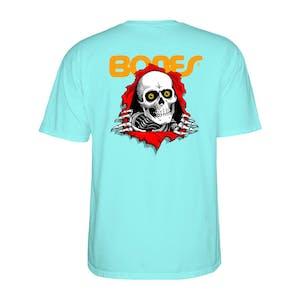 Powell-Peralta Bones Brigade Ripper T-Shirt - Celadon