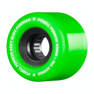 Powell-Peralta SSF Snakes Skateboard Wheels - Green