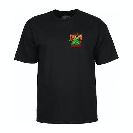 Powell-Peralta Caballero Street Dragon T-Shirt - Black