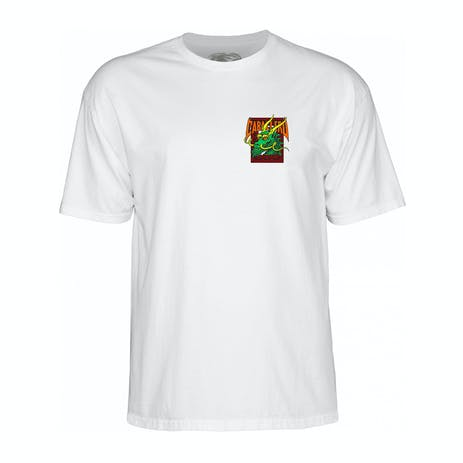 Powell-Peralta Caballero Street Dragon T-Shirt - White