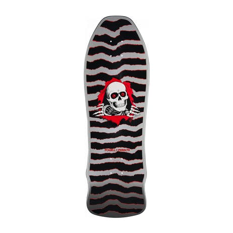 "Powell-Peralta Geegah Ripper 9.75"" Skateboard Deck - Silver"