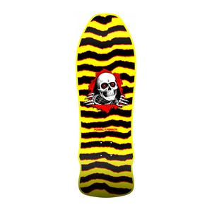 "Powell-Peralta Geegah Ripper 9.75"" Skateboard Deck - Yellow"