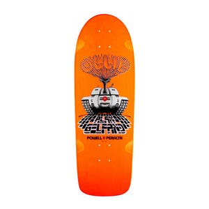 "Powell-Peralta Ollie Gelfand Tank 10.0"" Skateboard Deck - Orange"