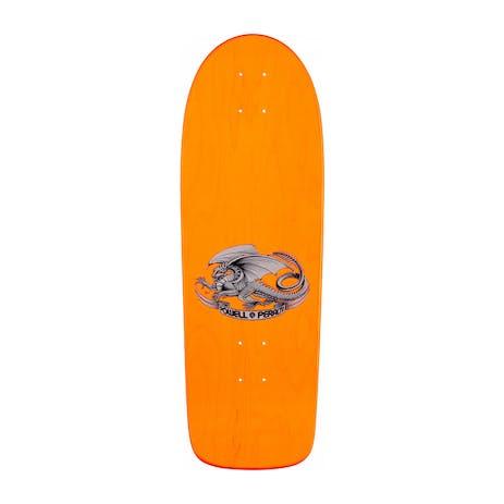 "Powell-Peralta Ollie Gelfand Tank 10.0"" Skateboard Deck - Orange"