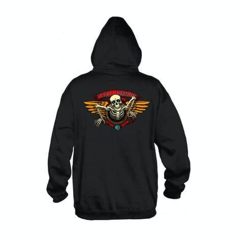 Powell-Peralta 40th Anniversary Winged Ripper Hoodie - Black