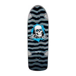 "Powell-Peralta OG Ripper 10"" Skateboard Deck - Silver"
