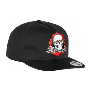 Powell-Peralta Ripper Snapback Hat - Black