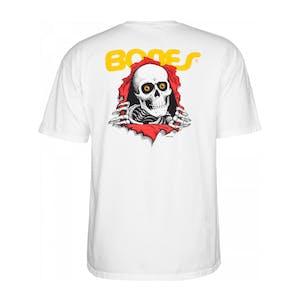 Powell-Peralta Bones Brigade Ripper T-Shirt - White