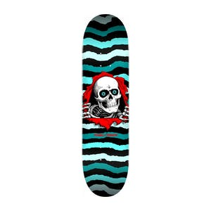 "Powell-Peralta Ripper 8.25"" Skateboard Deck - Turquoise"