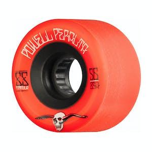 Powell-Peralta SSF G-Slides Skateboard Wheels - Red