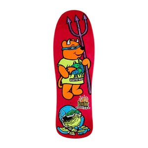 "Prime Heritage Rocco III 10.0"" Skateboard Deck - Red"