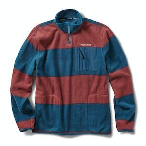 Primitive Hoover 1/4 Zip Fleece Jacket - Navy
