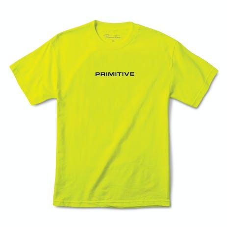 Primitive Zenith T-Shirt - Safety Green