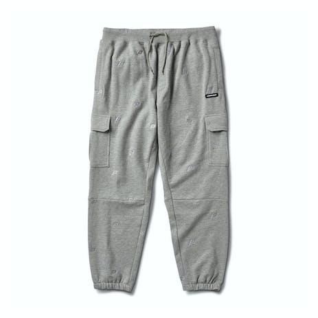 Primitive Overton Fleece Pant - Grey Heather