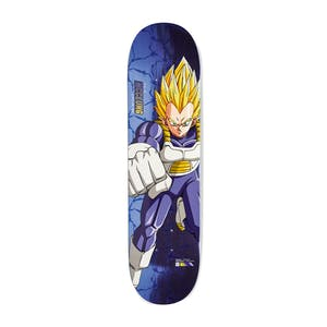 "Primitive x Dragon Ball Z Super Saiyan Vegeta 8.25"" Skateboard Deck - McClung"
