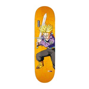 "Primitive x Dragon Ball Z Super Saiyan Trunks 8.0"" Skateboard Deck - Najera"