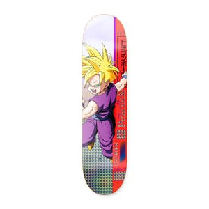 "Primitive x Dragon Ball Z Gohan 8.25"" Skateboard Deck - Peacock"