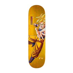 "Primitive x Dragon Ball Z Super Saiyan Goku 8.5"" Skateboard Deck - Rodriguez"