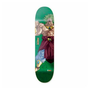 "Primitive x Dragon Ball Z Super Saiyan Broly 8.38"" Skateboard Deck - Lemos"