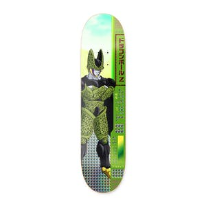"Primitive x Dragon Ball Z Cell 8.25"" Skateboard Deck - Tucker"