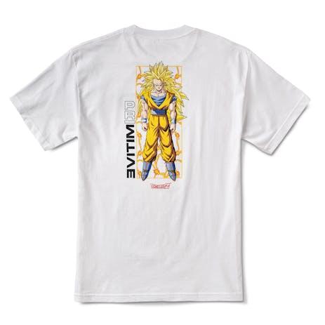 Primitive x Dragon Ball Z Goku Glow T-Shirt - White