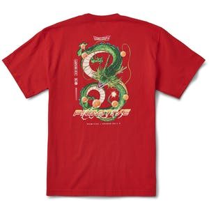 Primitive x Dragon Ball Z Shenron Dirty P T-Shirt - Red