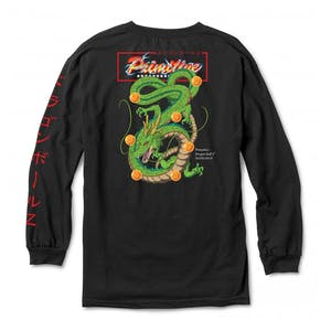 Primitive x Dragon Ball Z Shenron Wish Long Sleeve T-Shirt - Black