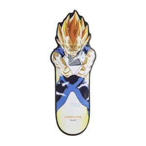 "Primitive x Dragon Ball Z Vegeta CNC 10.0"" Cruiser Skateboard Deck"