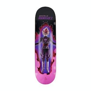 "Primitive x Dragon Ball Super Rodriguez Super Saiyan 8.25"" Skateboard Deck - Pink"