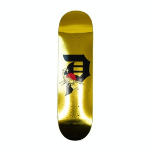 "Primitive Dirty P Scorpion 8.5"" Skateboard Deck - Gold Foil"