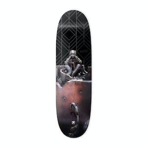 "Primitive x Moebius Anxiety Man 9.125"" Skateboard Deck"