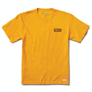 Primitive x Moebius Iron Man T-Shirt - Gold