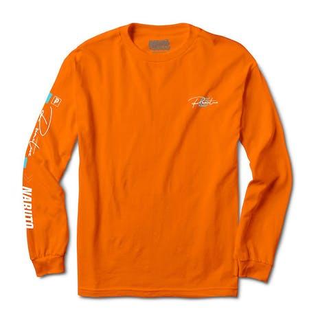 Primitive x Naruto Combat Long Sleeve T-Shirt - Orange