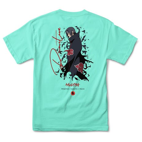 Primitive x Naruto Crows T-Shirt - Celadon