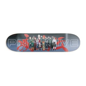 "Primitive x Naruto Leaf Village 8.25"" Skateboard Deck"