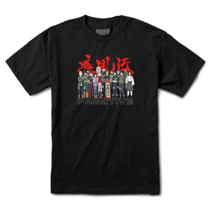 Primitive x Naruto Leaf Village T-Shirt - Black