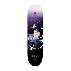 "Primitive x Naruto Sasuke 8.125"" Skateboard Deck - Lemos"