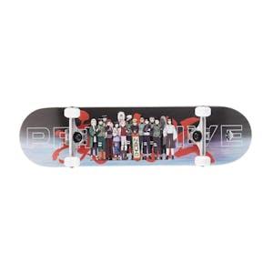"""Primitive x Naruto 8.125"""" Complete Skateboard - Leaf Village"""
