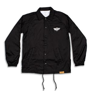 Primitive Thunder Bird Coaches Jacket - Black